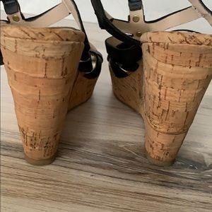 Steve Madden Shoes - Steve Madden Indyanna Cage Corks Wedges